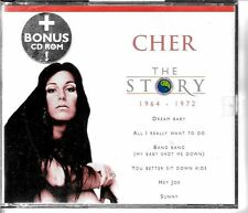 COFFRET CD COMPIL 15 TITRES + CD-ROM THE STORY--CHER