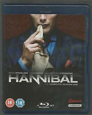 HANNIBAL - COMPLETE SEASON 1 - UK BLU-RAY - (mint condition - as new/unplayed)