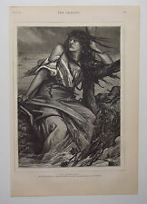 The Inundation From Picture By Belgian Painter Jean-Francois Portaels 1879 Print