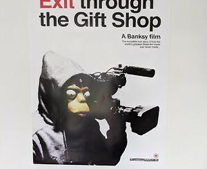 Banksy Exit Through The Gift Shop UK movie  lithograph circa 2010 50cmx70cm.