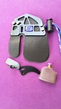 "ARCHERY, RECURVE SHOOTING TAB. SF DOUBLE COW HIDE. WITH ACCESSORIES 3"" by 3.5"""