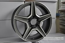 "19"" 63 GREY AMG STYLE WHEELS RIMS FITS MERCEDES BENZ M CLASS ML350 ML550 4MATIC"