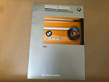 RARE LIMITED BMW 2002 SPECIAL EDITION COLLECTOR'S ITEMS WITH PART # BROCHURE