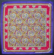 Paisley estilo Pañuelo Cabeza Bufanda Pañuelo Púrpura de Varios Colores Bufanda De Cuello