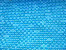 "Pure Wool. Retro ""Bubble"" Pattern Upholstery Fabric - Fire Retardent"