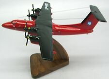 De Havilland DHC-7 British Antartica Airplane Wood Model SML Free Shipping