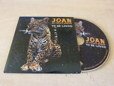 JOAN AS A POLICE WOMAN - TO BE LOVED - EURO PROMO  CD!!!!!!!