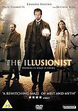 Edward Norton Jessica Biel THE ILLUSIONIST ~ 2006 Magician Thriller UK DVD