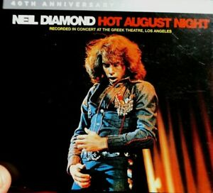 Neil Diamond - Hot August Night, 40th Anniversary Deluxe Edition  - CD,  VG