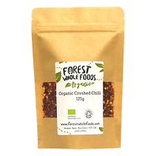 Organic Chilli Flakes 125g