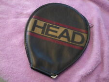 Head racquet Competition w cover Squash black  strung 17x18 preowned racket