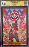 MARVEL Comics CAPTAIN AMERICA #701 CGC SS 9.8 DEADPOOL Nakayama Virgin Variant