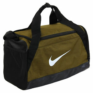 Nike Training Duffel Training Bag Shoes Compartment Olive Canvas/Black