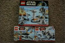 STAR WARS LEGO HOTH:  #7749 ECHO BASE, #8083 REBEL TROOPERS , #8084 SNOWTROOPERS