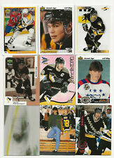 jaromir jagr lot of 9  Hockey cards.