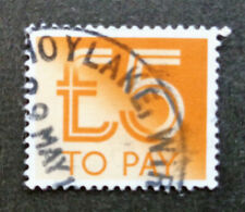 BRITAIN#J103 used 1982 £5 high-value postage due. We combine shipping