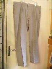 Pantalon de cuisine en pied de poule bleu/blanc T 54 neuf