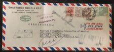 1955 Matamoros Mexico Airmail Chemicals Products cover To Philadelphia Pa USA