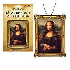 Mona Lisa Masterpiece Air Freshener NEW Toys Fun Joke Gag Gift