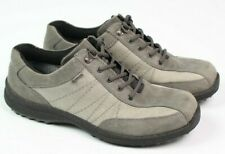 Hotter Comfort Control womens size 8.5 gray leather hiking walking shoe gore-tex