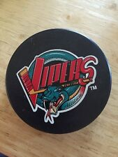 Detroit Vipers Vintage IHL Hockey Puck Un-Signed