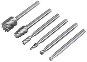 6PCS HSS ROTARY TOOL ROUTING ROUTER GRINDING BITS 4 DREMEL BOSCH TYPE TOOL RT1