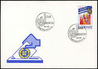 Luxembourg 1989 Direct Elections FDC First Day Cover#C29120
