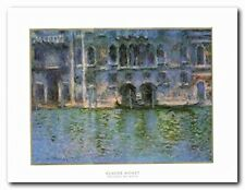 Palazza Da Mula Claude Monet Painting Wall Decor Art Print Poster (22x28)