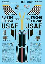 Microscale Decals 1/48 North American F-86E 39th FISq # AC480059