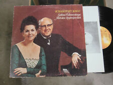 LP Angel 37166 Galina Vishnevskaya / Mstislav Rostropovitch / Tchaikovsky Songs