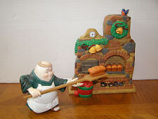 Dept. 56 MerryMakers Otto the Ovenman at his Oven - Retired  # 93734 - NIB