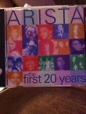 Arista: The First 20 Years Cd Pop Rock Songs Compilation Album 1997 (Vg+) #H37