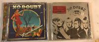 NO DOUBT 2 CD Lot Rock Ska Tragic Kingdom The Singles