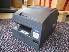 Epson TM-H6000II M147B Ticket Slip POS Printer Bondrucker USB BLACK INCL PSU