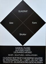 Josef Albers Museum # FLORIS, Alfonso HUPPI, MOSSO # 1991, mint