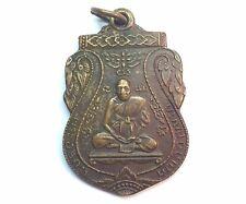 Old Thai Amulet LP Boonleur Kemako B E 2538