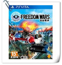 PSV FREEDOM WARS ENGLISH 自由戰爭 中文 英文 Sony PlayStation VITA Action Games SCE