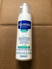 Mustela Stelatopia Foam Shampoo, Baby Shampoo, for Eczema-Prone Skin- 5.07 Fl Oz