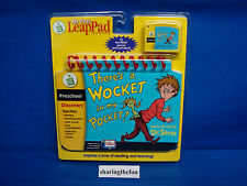 Leap Frog My First LeapPad THERE'S  A WOCKET IN MY POCKET New (Dr. Seuss)