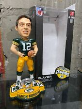 2011 Green Bay Packers Aaron Rodgers Super Bowl Ring Base Bobblehead RARE