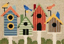 "New listing Area Rug - ""Home Tweet Home"" Bird House Rug - 30"" x 48"" - Indoor Outdoor Rug"