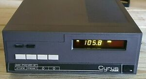 Vintage Mission CYRUS Microprocessor Controlled AM-FM Stereo Turner