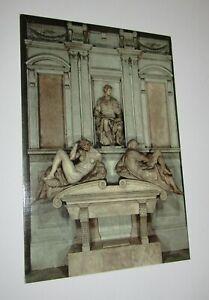 Medici Chapel Florence Italy Postcard Monument to Julian de' Medici Michelangelo