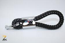 Leder Schlüsselanhänger für BMW M X1 X5 X6 X3 M3 1er Z3 M5 M6 Tuning Schwarz