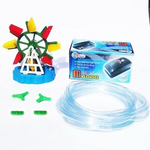 Air Pump Aquarium Fish Tank Oxygen Adjustable Windmill Air Line Tube Head Valves