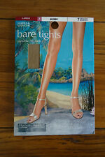 Marks and Spencer Bare Tights 7 Denier Appearance Blonde L