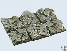 gestaltete Bases : Ruins Bases , 40x40mm (2)