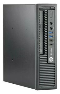 HP WINDOWS 10 PC Elite 800 G1 USDT Core i5-4590S 3GHz 4GB DDR3 250GB HDD WiFi