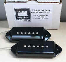 New Lindy Fralin Dogear P90 Pickup Set of 2 Black Made in USA Full Warranty