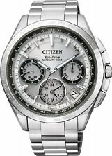 Citizen Eco-Drive Men's Satellite Wave Titanium Silver Watch # CC9010-74A